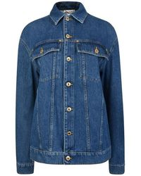 Moschino Teddy Denim Jacket - Blue
