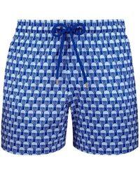 Vilebrequin Istanbul Swim Shorts - Blue