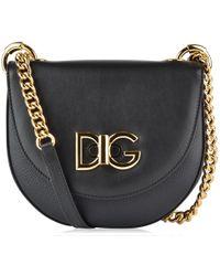 aaff0bb7ea23 Lyst - Dolce   Gabbana Wifi Logo Bag in Black