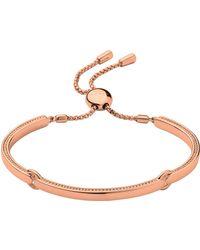 Links of London - Narrative Rose Gold Bracelet - Lyst