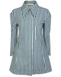 Marni Long Stripe Shirt - Blue
