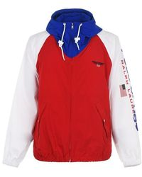 Polo Ralph Lauren Colour Block Lightweight Jacket - Red