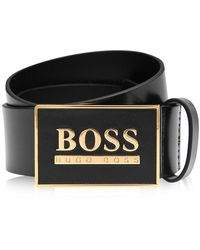 BOSS Icon Belt - Black