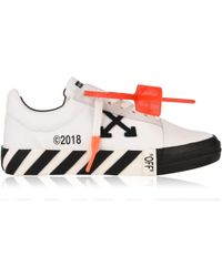 Off-White c/o Virgil Abloh - Canvas Trainers - Lyst