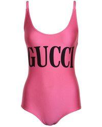 Gucci Logo Swimsuit