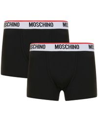 Moschino - Two Pack Of Boxer Trunks - Lyst