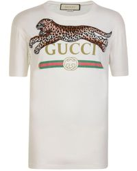 0d5ce337 Lyst - Gucci Angelica Hicks Limited Edition T-shirt in White for Men