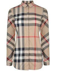 Burberry Classic Checked Shirt - Multicolour