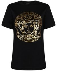 Versace Medusa Head T-shirt - Black