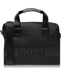 BOSS Nylon Document Case - Black