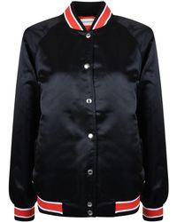 Calvin Klein - Varsity Bomber Jacket - Lyst