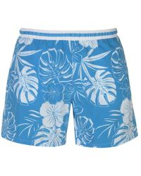 BOSS by Hugo Boss Hugo Boss Swim Shorts Mens - Blue