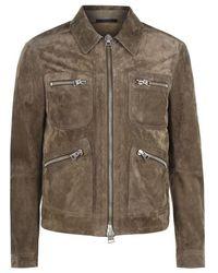 Tom Ford Suede Jacket - Multicolor