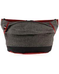 Tommy Hilfiger - Contrast Pattern Oversized Bum Bag - Lyst