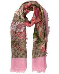 Gucci Spring Shawl - Pink