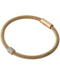 Links of London - Star Dust Yellow Gold Plate Bead Bracelet - Lyst