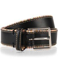 Paul Smith - Striped Trim Belt - Lyst