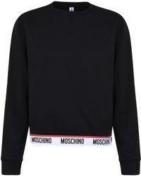 Moschino - Logo Band Sweatshirt - Lyst