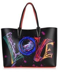 Christian Louboutin Cabata Love Tote Bag - Black