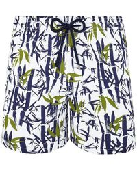Vilebrequin Printed Swim Shorts - Blue
