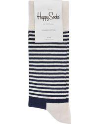 Happy Socks - Half Stripe Socks - Lyst