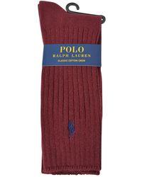 Polo Ralph Lauren - Classic Logo Socks - Lyst