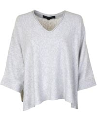 French Connection - Tie Knitted Jumper - Lyst