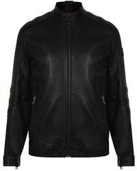 BOSS Jagson Biker Jacket - Black