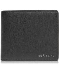 PS by Paul Smith Stripe 8cc Wallet - Black