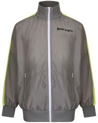 Palm Angels Tracksuit Jacket - Gray