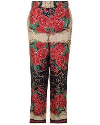 Gucci - Rose Pj Trousers - Lyst