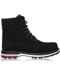 Moncler Rugged Boots - Black
