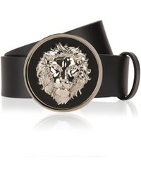 Versus - Lion Head Belt - Lyst