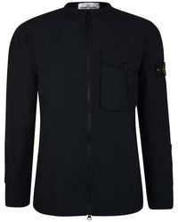 Stone Island Ripstop Sniper Jacket - Blue