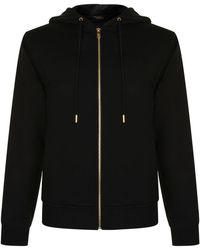 MCM - Logo Zip Hooded Sweatshirt - Lyst