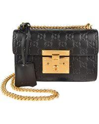Gucci - Padlock Signature Shoulder Bag - Lyst daa69e16e74f3