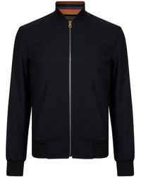 PS by Paul Smith Planets Bomber Jacket - Black