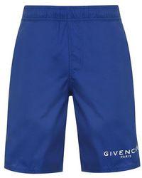 Givenchy - Logo Swim Shorts - Lyst