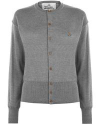 Vivienne Westwood Classic Cardigan - Gray