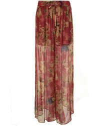Zimmermann - Melody Wide Floral Trousers - Lyst