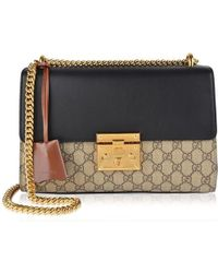 18e820663 Gucci Padlock Tian Shoulder Bag - Lyst