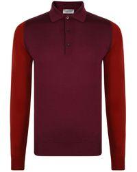 John Smedley - Brightgate Polo Shirt - Lyst