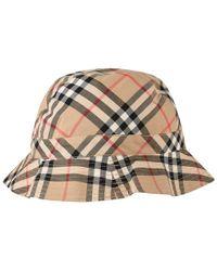 Burberry Unisex Juniors Vintage Check Bucket Hat - Multicolour