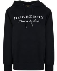 Burberry - Krayford Hooded Sweatshirt - Lyst
