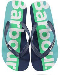 Barbour B. Li Stripe Sandal Sn02 - Blue