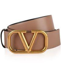 Valentino - Vlogo Reversible Belt - Lyst