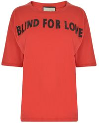 Gucci - Blind For Love T Shirt - Lyst
