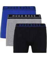 BOSS by Hugo Boss - Three Pack Boxer Briefs - Lyst