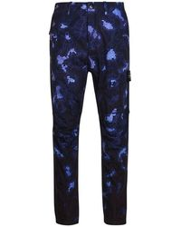 Stone Island - Heat Reactive Thermosensitive Trousers - Lyst