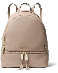 MICHAEL Michael Kors Rhea Zip Medium Backpack - Brown